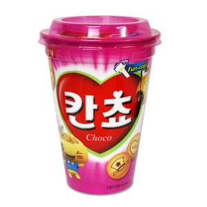 Lotte Cancho Korean Chocolate Snack Cookies 95gr