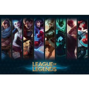 League of Legends - Champion Splasharts - 91,5x61 Poster