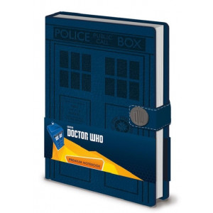 Doctor Who Tardis A5 Premium Notizbuch