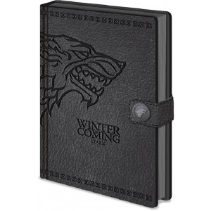 Game of Thrones Stark A5 Premium Notizbuch