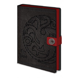 Game of Thrones Targaryen A5 Premium Notizbuch