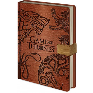 Game of Thrones Sigil A5 Premium Notizbuch