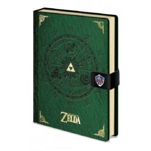 The Legend of Zelda A5 Premium Notizbuch