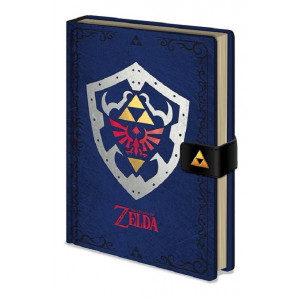 The Legend of Zelda Hylian Shield A5 Premium Notizbuch