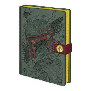 Star Wars Boba Fett A5 Premium Notizbuch
