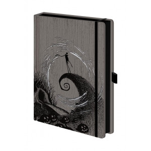 Nightmare before Christmas Moonlight Madness A5 Premium Notizbuch