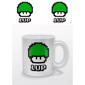 Funky Retro 1 UP Mug