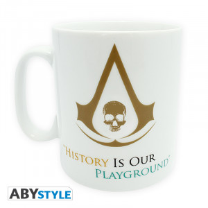 Assassin's Creed 4 History 460ml Mug