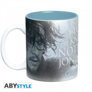Game Of Thrones You Know Nothing 460ml Mug
