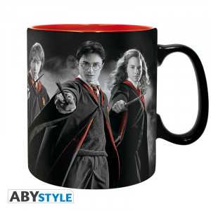 Harry Potter Ron Harry Hermine 320ml Mug