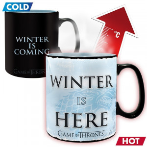 Game of Thrones Magic Mug Winter Is Here 460ml Mug