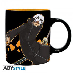 One Piece Trafalgar Law Logo 320ml Tasse