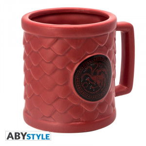 Game of Thrones Targaryen 500ml 3D Mug