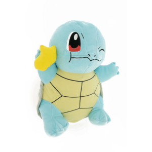Pokémon - Squirtle with a yellow snack - 35cm Plush