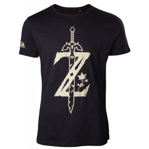 The Legend of Zelda Z with sword T-shirt size S