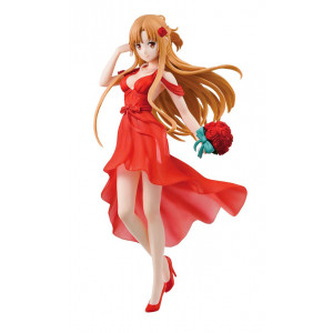 COLLECTOR ♦ Sword Art Online Ichibansho PVC Statue Asuna [Party Dress] 20 cm figure