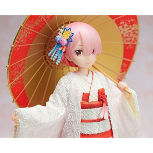 COLLECTOR ♦ Re:ZERO -Starting Life in Another World- PVC Statue 1/7 Ram -Shiromuku- 24 cm figure