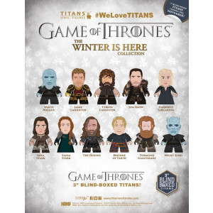 Game of Thrones The Winter is here collection Titan random collectible figure