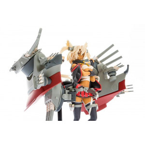 COLLECTOR  ♦ Kantai Collection Plastic Model Kit 1/20 PLAMAX MF-18 Musashi 9 cm figure