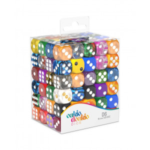 Oakie Doakie Dice W6 Würfel Retail Pack 16 mm Mix