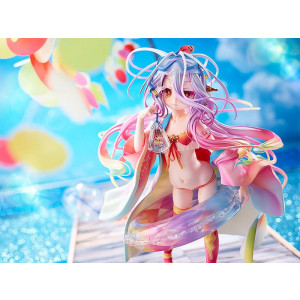 PREORDER ♦ No Game No Life PVC Statue 1/7 Shiro Summer Season Ver. 19 cm Figure