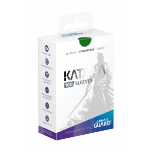 Ultimate Guard Katana Sleeves Standard Size Green (100)