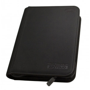 Ultimate Guard Mini American 9-Pocket ZipFolio XenoSkin Black