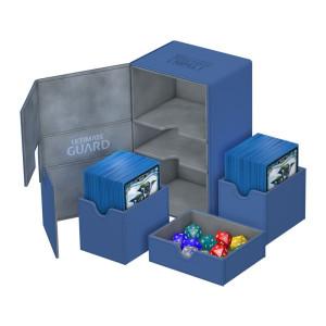 Ultimate Guard Twin Flip´n´Tray Deck Case 160+ Standard Size XenoSkin Blue