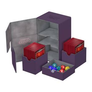 Ultimate Guard Twin Flip´n´Tray Deck Case 160+ Standard Size XenoSkin Purple