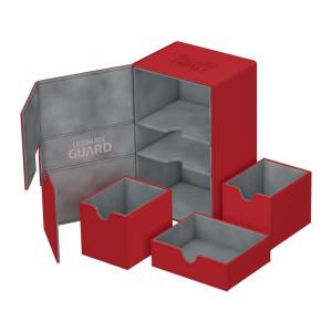 Ultimate Guard Twin Flip´n´Tray Deck Case 160+ Standard Size XenoSkin Red