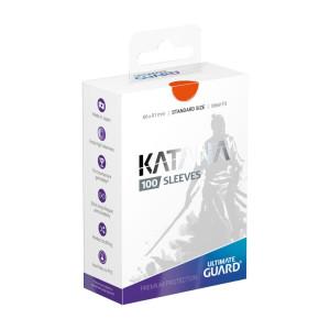 Ultimate Guard Katana Sleeves Standard Size Orange (100)
