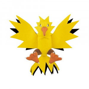 Pokemon - Focus - Zapdos 15 cm plush