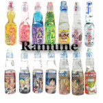 Japanese lemonade Ramune 200ml bottle
