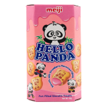 Meiji Hello Panda Biscuits with strawberry filling 50g